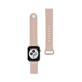 Apple Watch 40/38mm Naztech Pink (Pink Sand) Silicone Watch Band
