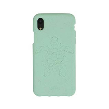 iPhone XR Pela Turquoise Turtle Edition Compostable Eco-Friendly Protective Case