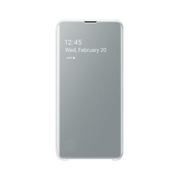 Samsung Galaxy S10e OEM White Clear View Cover