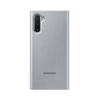 Samsung Galaxy Note 10+ OEM Silver LED View Cover Case