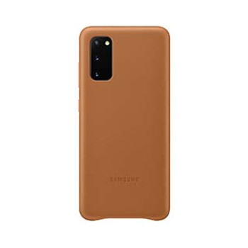 Samsung Galaxy S20 Brown OEM Leather Cover Case