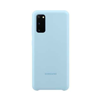 Samsung Galaxy S20 Blue OEM Silicone Cover Case