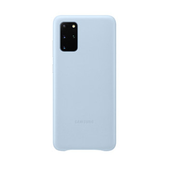 Samsung Galaxy S20+ Blue OEM Leather Cover Case
