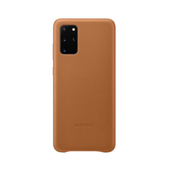 Samsung Galaxy S20+ Brown OEM Leather Cover Case