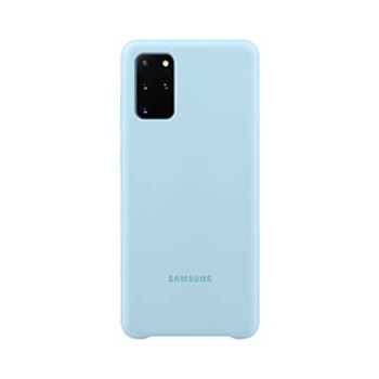 Samsung Galaxy S20+ Blue OEM Silicone Cover Case