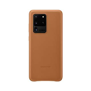 Samsung Galaxy S20 Ultra Brown OEM Leather Cover Case