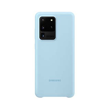 Samsung Galaxy S20 Ultra Blue OEM Silicone Cover Case