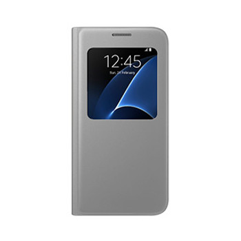 Samsung Galaxy S7 OEM Silver S View Cover