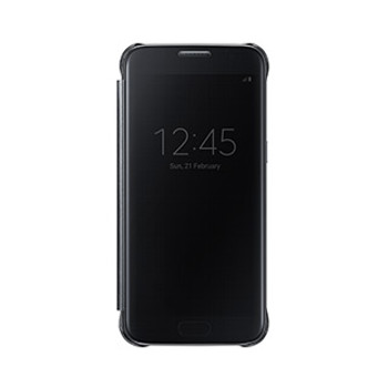 Samsung Galaxy S7 OEM Black Clear View Cover