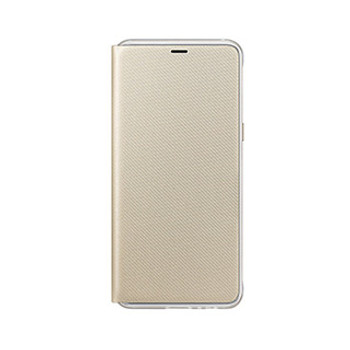 Samsung Galaxy A8 (2018) OEM Gold Neon Flip Cover