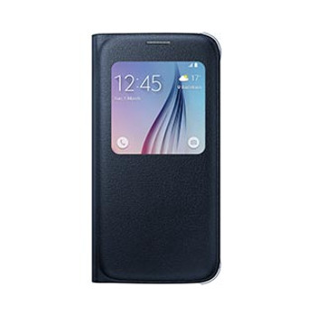 Samsung Galaxy S6 OEM Black-Blue S View Cover