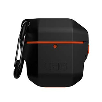 Apple Airpods Gen 1 & 2 UAG Black/Orange Hardcase