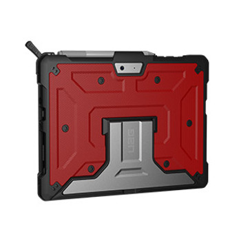 Microsoft Surface Go UAG Red/Black (Magma) Metropolis Series case