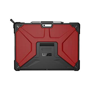 Microsoft Surface Pro X UAG Red/Black (Magma) Metropolis Series Case