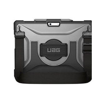 Microsoft Surface Pro X UAG Clear/Black (Ice) Plasma Series Case