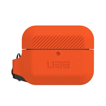 Apple Airpod Pro UAG Orange/Black Silicone Case