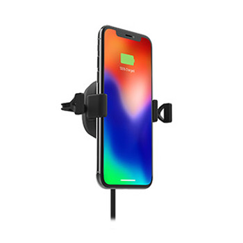 mophie black 10W wireless charge stream vent mount