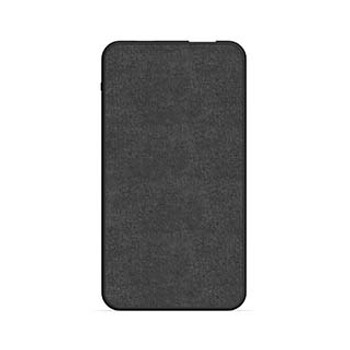 mophie black 5,000 mAh powerstation mini (fabric)