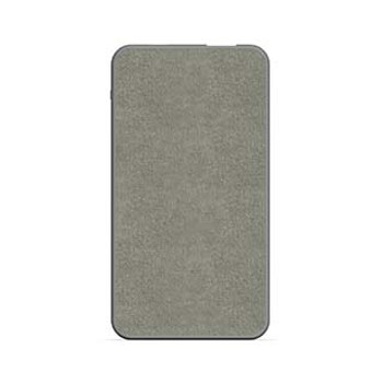 mophie gray 5,000 mAh powerstation mini (fabric)