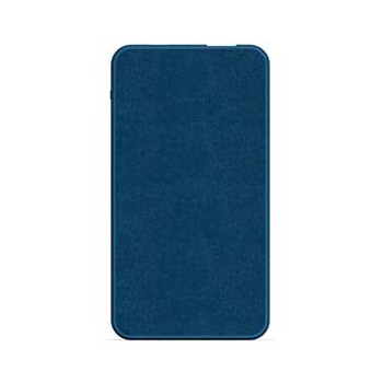 mophie blue (navy) 5,000 mAh powerstation mini (fabric)