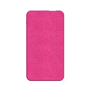 mophie hot pink 5,000 mAh powerstation mini (fabric)