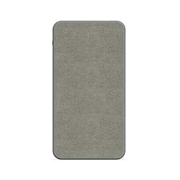 mophie gray 10,000 mAh powerstation (fabric)