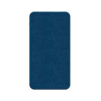 mophie blue (navy) 10,000 mAh powerstation (fabric)