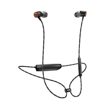 House of Marley Black Uplift 2 Wireless BT Earphones