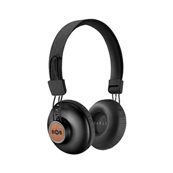 House of Marley Black Positive Vibrations BT Headphones
