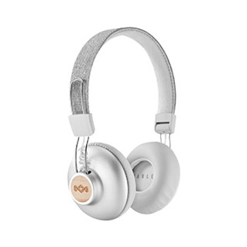 House of Marley Silver Positive Vibrations BT Headphones