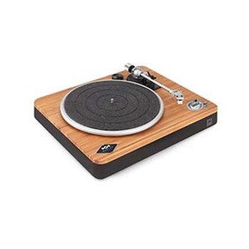 House of Marley Black Stir It Up Wireless Turntable