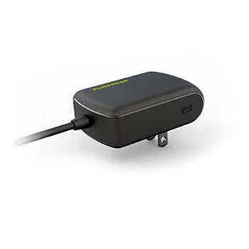 PureGear 15W Black Wall Charger w/ Attached USB-C Cable