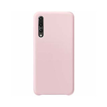 Huawei P30 Uunique Candy Pink Liquid Silicone Case