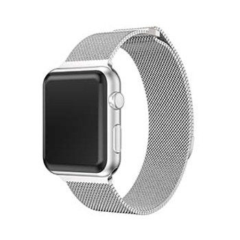 Apple Watch 40/38mm Uunique Silver Spectra Watch Band