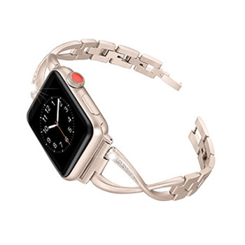 Apple Watch 40/38mm Uunique Rose Gold Elire Watch Band