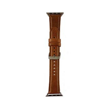 Apple Watch 40/38mm Uunique Tan Genuine Leather Classic Watch Band