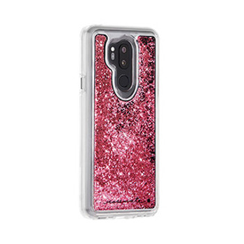 LG G7 ThinQ/G7 One Case-Mate Rose Gold Waterfall case