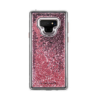 Samsung Galaxy Note 9 Case-Mate Rose Gold Waterfall case