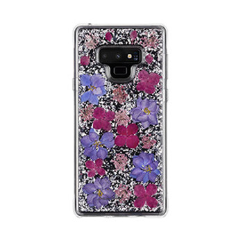 Samsung Galaxy Note 9 Case-Mate Purple Karat Petals case