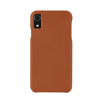 iPhone XR Case-Mate Brown Barely There Leather case