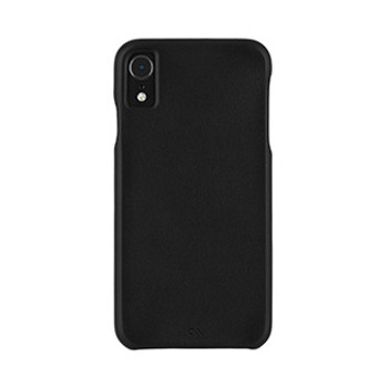 iPhone XR Case-Mate Black Barely There Leather case