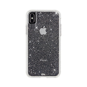 iPhone Xs Max Case-Mate Clear Sheer Crystal case