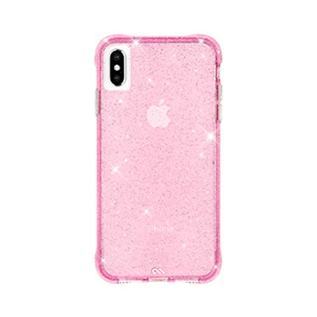 iPhone Xs Max Case-Mate Pink Sheer Crystal case