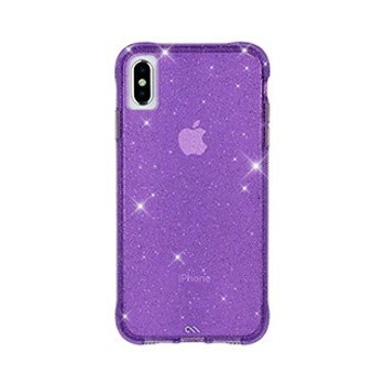 iPhone Xs Max Case-Mate Purple Sheer Crystal case