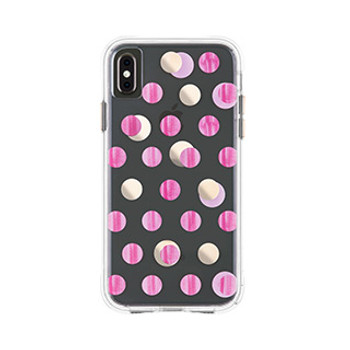 iPhone Xs Max Case-Mate Pink Dot Wallpaper case