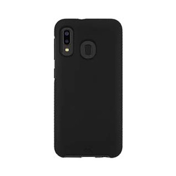 Samsung Galaxy A20 Case-Mate Black Tough Grip Case