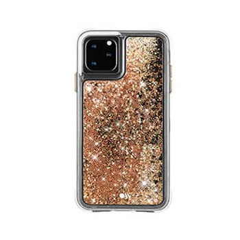 iPhone 11 Pro Max Case-Mate Gold Waterfall Case