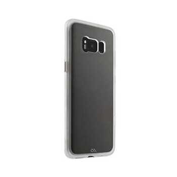 Samsung Galaxy S8 Case-Mate Clear w/Clear bumper Naked Tough case