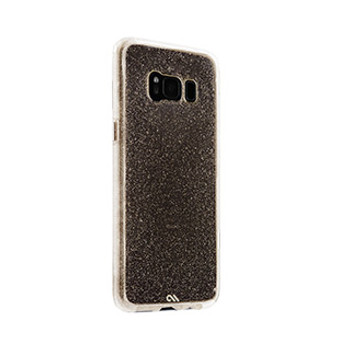 Samsung Galaxy S8 Case-Mate Champagne Sheer Glam case
