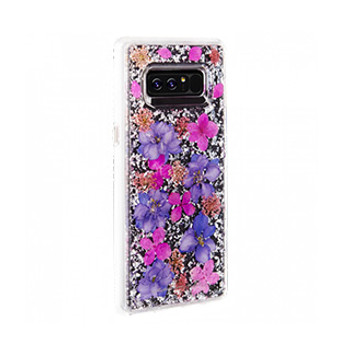 Samsung Galaxy Note 8 Case-Mate Purple Karat Petals case